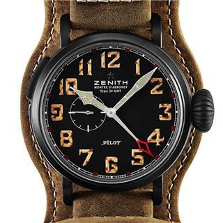真力时 Zenith PILOT 飞行员系列 96.2431.693/21.C738 机械 男款