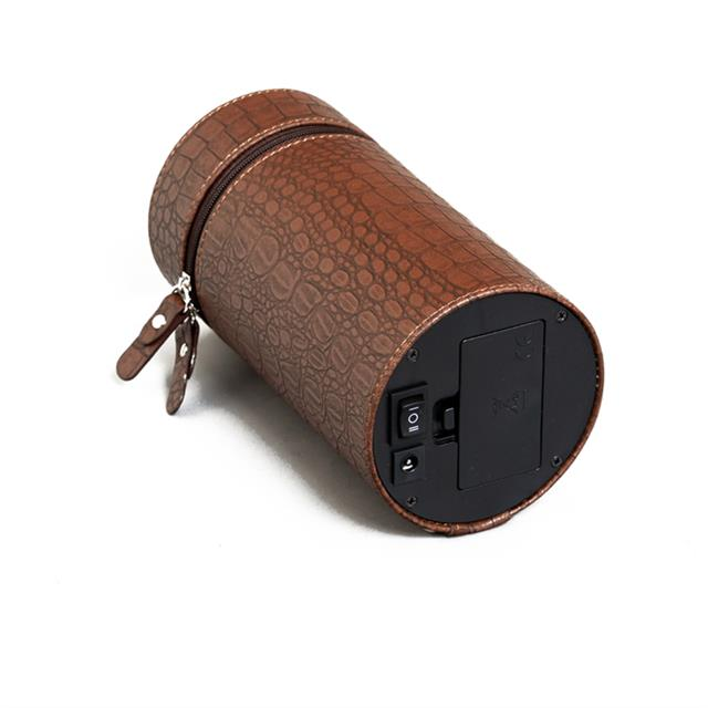 Prime Time盛时定制单头摇表器 自动机械上链盒转表器(棕色皮革)