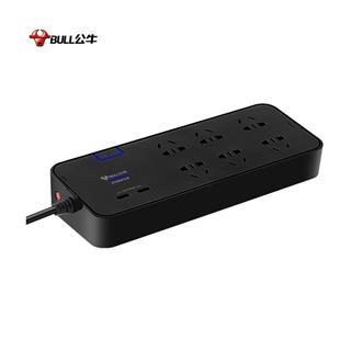 公牛抗电涌抗防浪涌插座 带USB全长3米