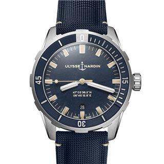 雅典 Ulysse Nardin DIVER 潜水系列 8163-175/93 机械 男款