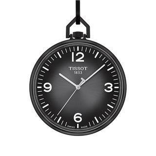 天梭 Tissot 怀表系列 T863.409.99.067.00 石英 男款