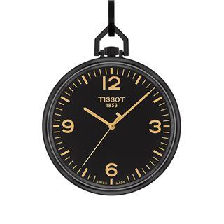 天梭 Tissot 怀表系列 T863.409.99.057.00 石英 男款