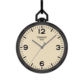 天梭 Tissot 怀表系列 T863.409.99.267.00 石英 男款