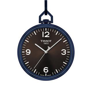 天梭 Tissot 怀表系列 T863.409.99.297.00 石英 男款