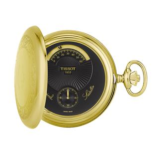 天梭 Tissot 怀表系列 T851.405.99.050.01 机械 男款 小秒针