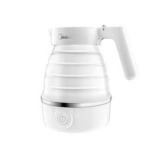 美的(Midea)旅行折叠水壶 小巧便携 奶嘴级材质 耐高温
