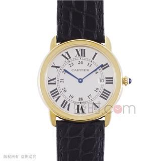 卡地亚 Cartier RONDE DE CARTIER腕表 W6700455 石英 中性款