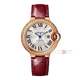 卡地亞 Cartier BALLON BLANC DE CARTIER腕表 WJBB0033 機械 女款