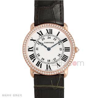 卡地亚 Cartier RONDE DE CARTIER腕表 WR000651 机械 中性款