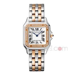 卡地亚 Cartier PANTHERE DE CARTIER腕表系列 W3PN0007 石英 男款