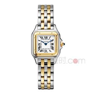 卡地亚 Cartier PANTHERE DE CARTIER腕表系列 W2PN0006 石英 女款