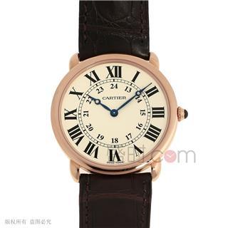 卡地亚 Cartier RONDE DE CARTIER腕表 W6800251 机械 男款