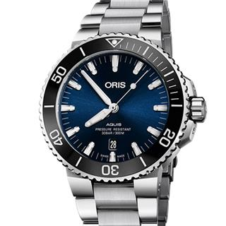 豪利时 Oris DIVERS 潜水系列钢机械 733.7730.4135M 机械 男款
