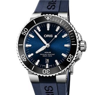 豪利时 Oris DIVERS 潜水系列钢机械 733.7730.4135R 机械 男款