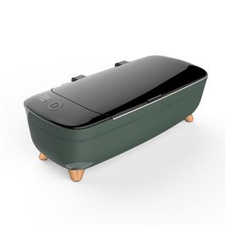 艾詩摩爾超聲波清洗機小型家用便攜洗眼鏡首飾品手表假牙清洗器