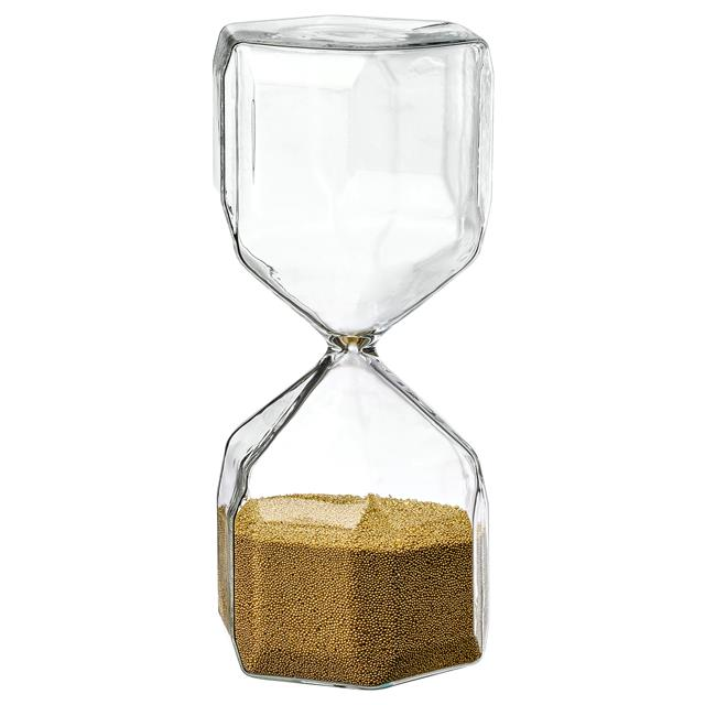 Prime Time装饰沙漏 时间计时沙漏礼盒装(金色)