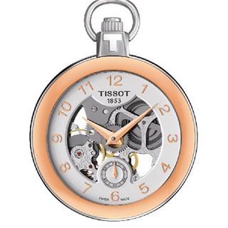 天梭 Tissot 怀表系列 T853.405.29.412.01 机械 男款 小秒针