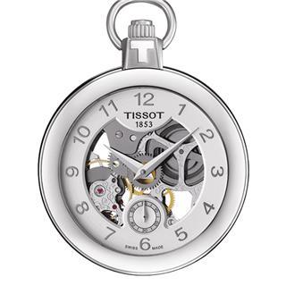 天梭 Tissot 怀表系列 T853.405.19.412.00 机械 男款 小秒针