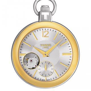 天梭 Tissot 怀表系列 T853.405.29.037.00 机械 男款 小秒针
