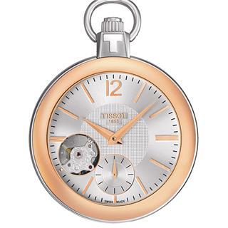 天梭 Tissot 怀表系列 T853.405.29.037.01 机械 男款 小秒针