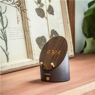 開物 靈犀感應音響手機架隨身桌面迷你小無線鬧鐘家用藍牙音箱