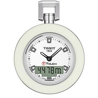 天梭 Tissot 怀表系列 T857.420.19.011.00 石英 男款 触摸调时