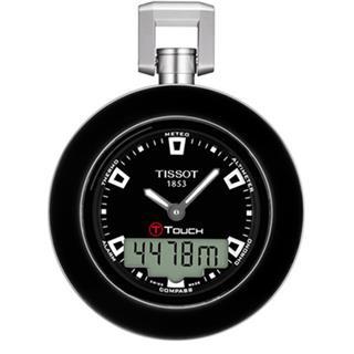 天梭 Tissot 怀表系列 T857.420.19.051.00 石英 男款 触摸调时
