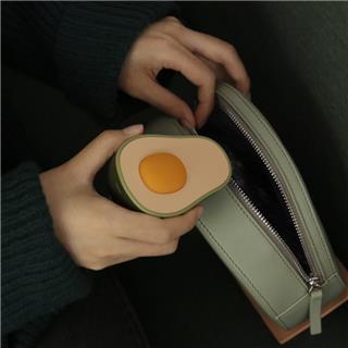 MUID牛油果暖手寶充電式USB防爆迷你隨身便攜創意暖寶寶