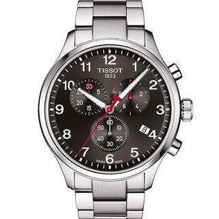 天梭 T116.617.11.057.02 石英 男款 计时码 小秒针