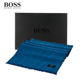 正品HUGO BOSS披肩(藍色)