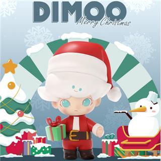 POPMART泡泡瑪特 DIMOO圣誕節系列盲盒公仔手辦隨機發貨不支持退貨退款