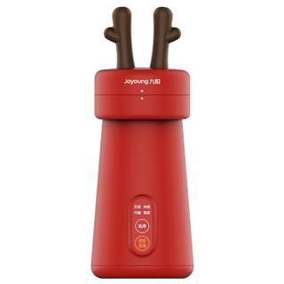 九阳MILU豆浆机小型单人多功能全自动迷你便携家用料理豆浆机新品(新年红色)