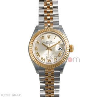 劳力士 Rolex OYSTER PERPETUAL 蚝式恒动系列 279173-63343银罗 机械 女款