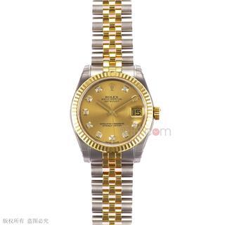 劳力士 Rolex OYSTER PERPETUAL 蚝式恒动系列 178273-G-63163黄石 机械 女款