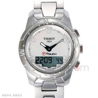 天梭 Tissot 高科技觸屏系列 T047.220.44.116.00 石英 女款