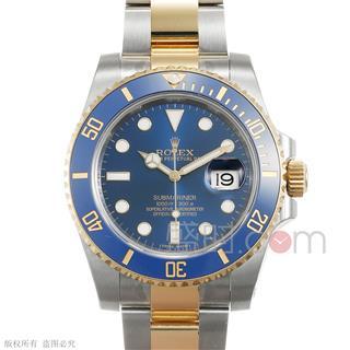 劳力士 Rolex OYSTER PROFESSIONAL 蚝式专业系列 116613LB-97203蓝 机械 男款