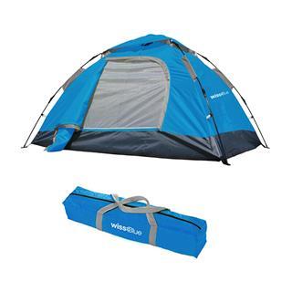 Wissblue维仕蓝双人自动帐篷 户外野营帐篷WBT9226(蓝色)