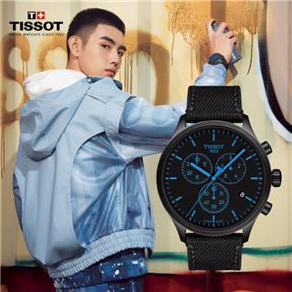天梭 Tissot 运动系列 T116.617.37.051.00 石英 男款 计时码 小秒针