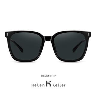 Helen Keller海伦凯勒男款太阳镜 个性偏光太阳镜时尚男开车专用韩版H8956H19