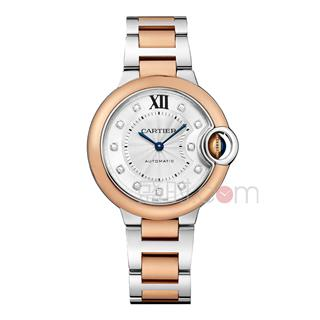卡地亚 Cartier BALLON BLEU DE CARTIER腕表 W3BB0006 机械 女款