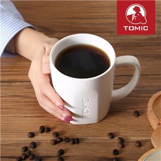 Tomic特美刻马克杯 个性创意情侣陶瓷杯咖啡杯子水杯(白色 小号)